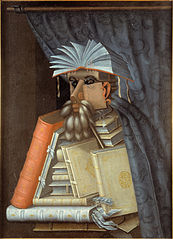 Guiseppe_Arcimboldo,_copy-,_after-_-_The_Librarian_-_Google_Art_Project