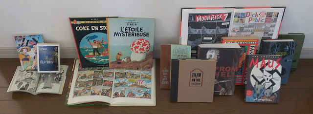 Colecție de romane grafice și albume BD